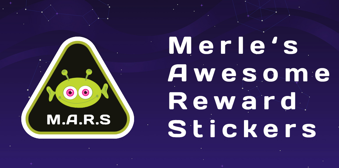 Merle's Awesome Reward Stickers