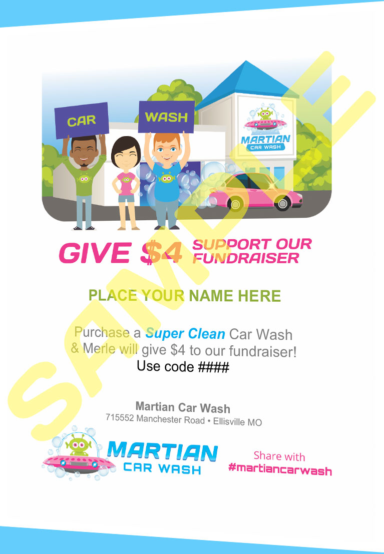 Car Wash Fundraiser St Louis Martian Car Wash